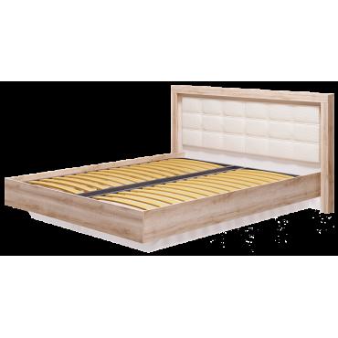 Кровать двуспальная 1600 мм Люмен №12